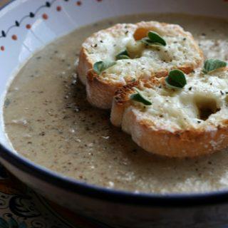 Porcini Farro Soup