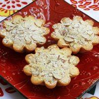 Nutella Almond Tartlets