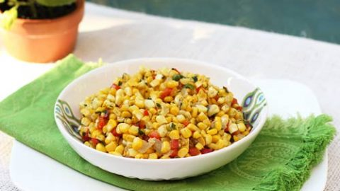 Sweet Corn With Peppers Onions Italian Food Forever