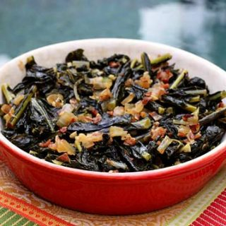 Braised Kale With Pancetta And Onion