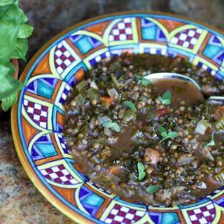 Lentil, Kale & Sausage Soup