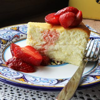 Ricotta Mascarpone Cheesecake