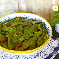 Spicy Sautéed Beans With Sun-Dried Tomatoes
