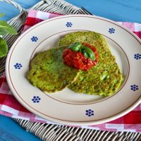 Pea And Fava Bean Fritters