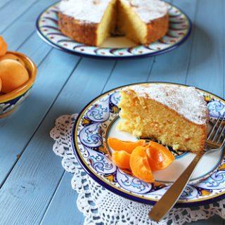 Apricot Snack Cake
