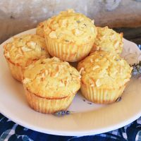 Apple Lavender Muffins