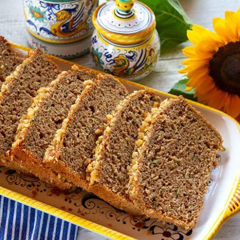 Zucchini Apple Bread