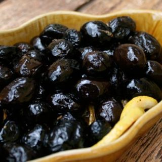 Baked Seasoned Olives