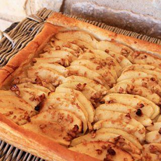 Thin Crusted Apple Tart