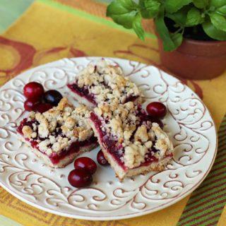 Cranberry Walnut Squares