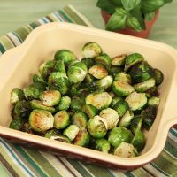 Oen Roasted Brussels Sprouts
