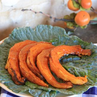 Maple Glazed Pumpkin Wedges