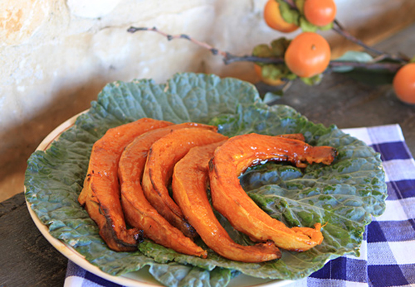 Roasting pumpkin brings out the natural sweetness through caramelization.