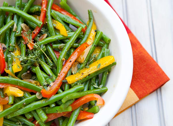 A quick to prepare, colorful side dish that is great year round.