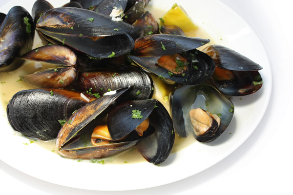 A simple yet delicious way to serve fresh mussels.