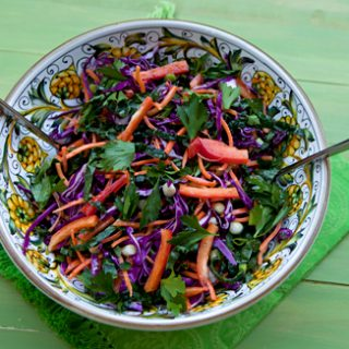 Kale & Red Cabbage Salad
