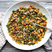 New Year's Lentil Salad