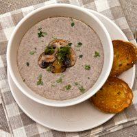 Creamy Roasted Mushroom Soup