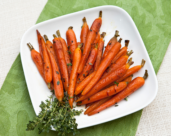 A nice, subtly sweet vegetable side dish that would work well with any meat or poultry entree.
