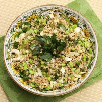 Spring Farro Salad With Fennel