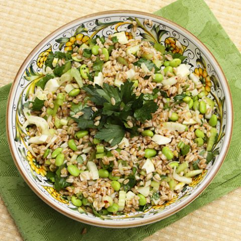 Spring Farro Salad With Fennel