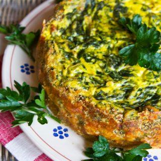 Savory Spinach & Ricotta Tart