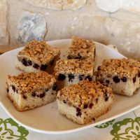 Blackberry Snack Cake