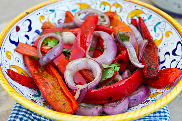 A quick and easy side dish that cooks in minutes on the grill.