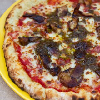 Mushroom & Black Truffle Pizza