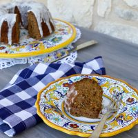 Whole Grain Applesauce Cake