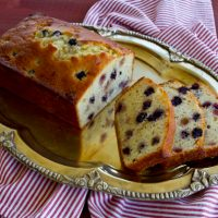Wild Blackberry Lemon Quick Bread
