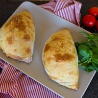 Spinach & Ricotta Cheese Calzone