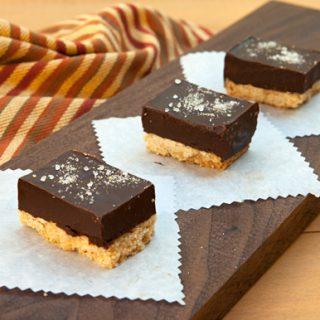 Salted Caramel Chocolate Bars