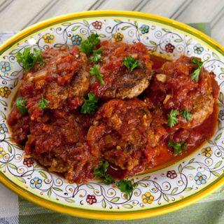 Ricotta & Beef Meatballs In Sauce