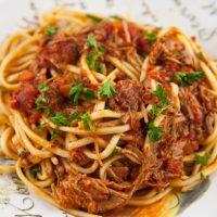 Pasta With Turkey Ragu