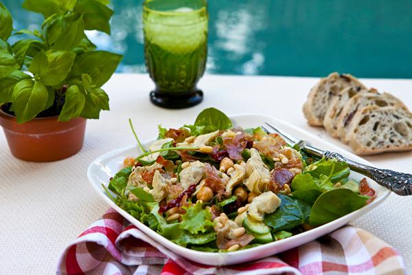 A hearty, main dish salad.