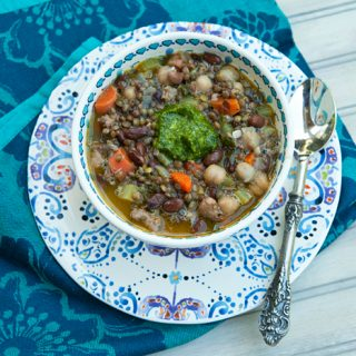Lentil, Two Bean & Sausage Soup