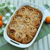Cinnamon Orange Breakfast Buns