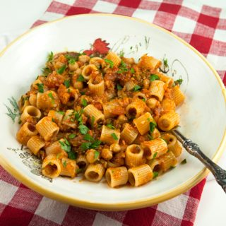 Tubettoni Pasta With Chickpeas