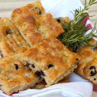 Olive & Rosemary Focaccia