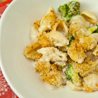 Delverde Pasta Shells With Goat Cheese & Broccoli