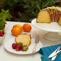 Meyer Lemon Olive OIl Cake