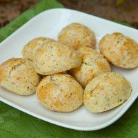 Pecorino & Black Pepper Cheese Puffs