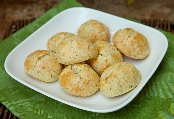 These easy to prepare cheese puffs from choux pastry are perfect served along with a glass of wine.