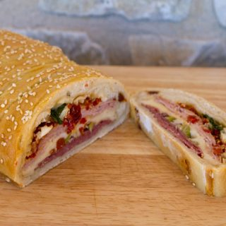 How To Make A Braided Stromboli