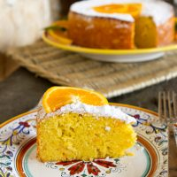 Olive Oil Orange Cake Recipe