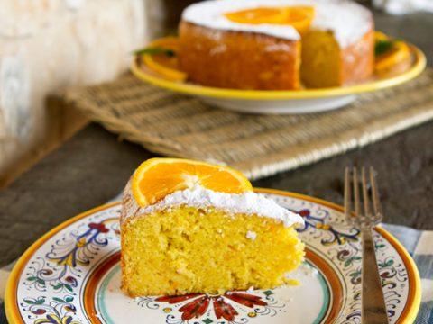 Olive Oil Orange Cake Italian Food Forever