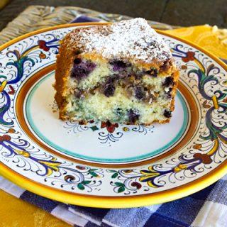 Blueberry Nut Cake