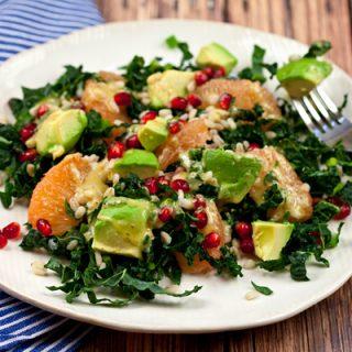 Kale, Grapefruit, & Avocado Detox Salad