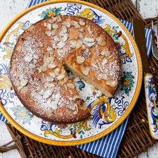 Ricotta Almond Cake